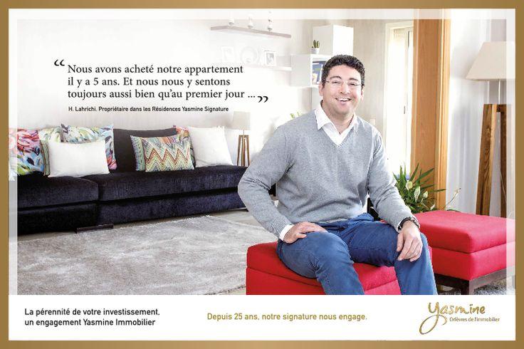 La pérennité de votre investissement , un engagement Yasmine Signature Immobilier.