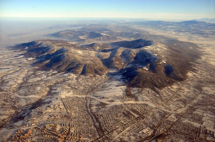 Our amazing located city in the Beskidy Mountains :)