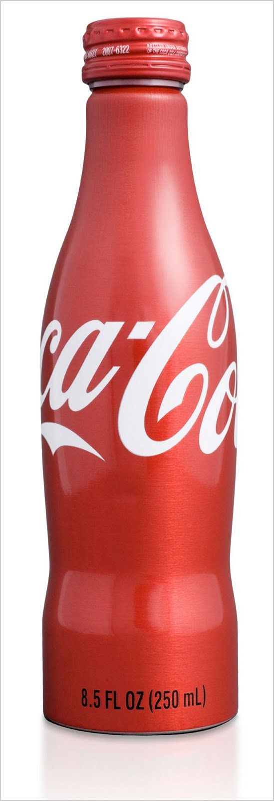 Coca~Cola aluminum bottle