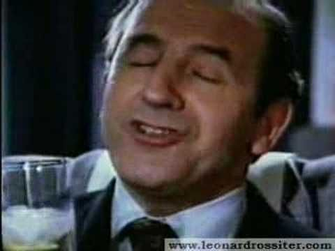 The late, and truly great Leonard Rossiter starred with Joan Collins in four Cinzano commercials spanning the years 1978 to 1983. True classics. From the advertising agency Collett Dickenson Pearce (CDP)