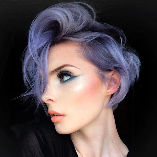 Best 25+ Lilac Hair Ideas On Pinterest
