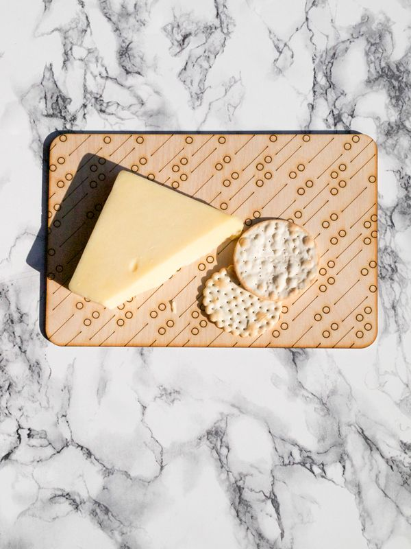 "Image of Cheese board/Tray ""Dots"""