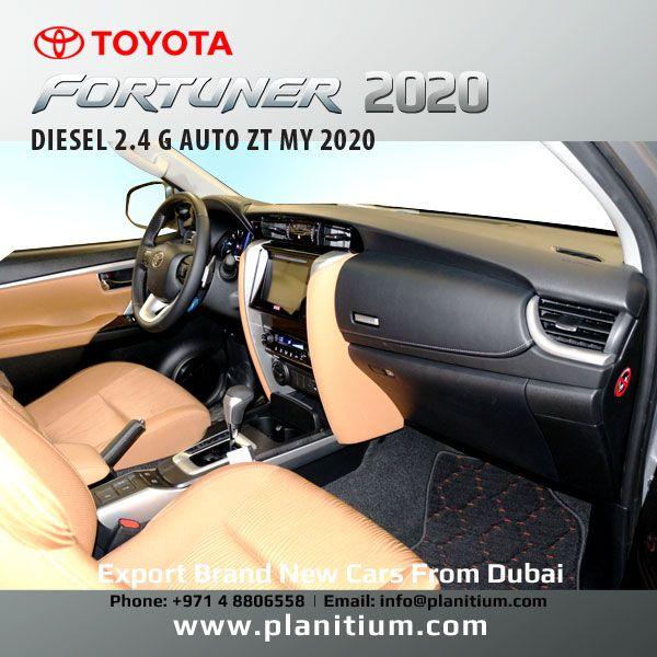 2020 Toyota Fortuner 2 4 G Diesel Interior Toyota Diesel New Cars