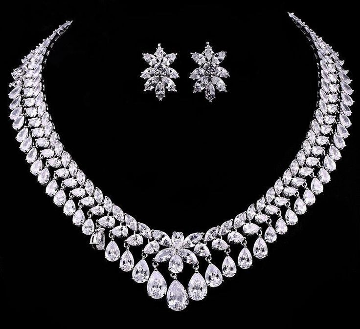 Luxury Wedding Diamond Necklace