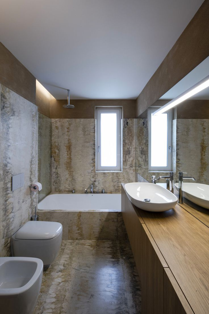 Washroom is an exclusive place at home where one way or another we do spend time. Therefore clean and fresh environment, and nice interior are necessary.   So whether you are thinking about a complete bathroom remodelling or just a tiny makeover, we'll provide you with inspiration so that you could create your dream bathroom firstly on Planner 5D projects and then later in real.