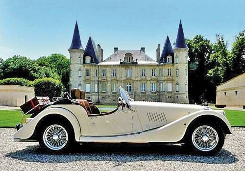 Rent a two-seater classic Morgan sports car and a chateau in Rocquecor, France. Profile Photos of Cross Channel Sports Cars Place de la Mairie - Photo 2 of 8