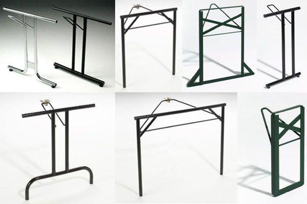 Gambe per tavoli pieghevoli tavoli gambe alternative - Gambe in ferro per tavoli ...