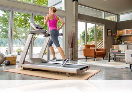 Precor 9.35 Treadmill keeps you moving forward!