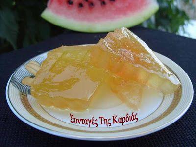 ΣΥΝΤΑΓΕΣ ΤΗΣ ΚΑΡΔΙΑΣ: Καρπούζι, γλυκό του κουταλιού