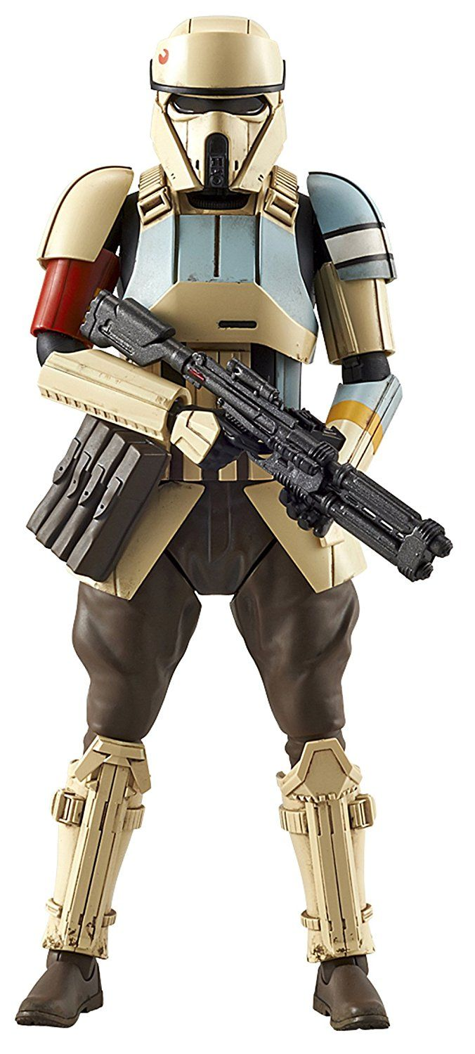 STAR WARS ROGUE ONE SHORETROOPER 1/12 scale Plastic Model Kit Made in Japan: Amazon.co.uk: Toys & Games