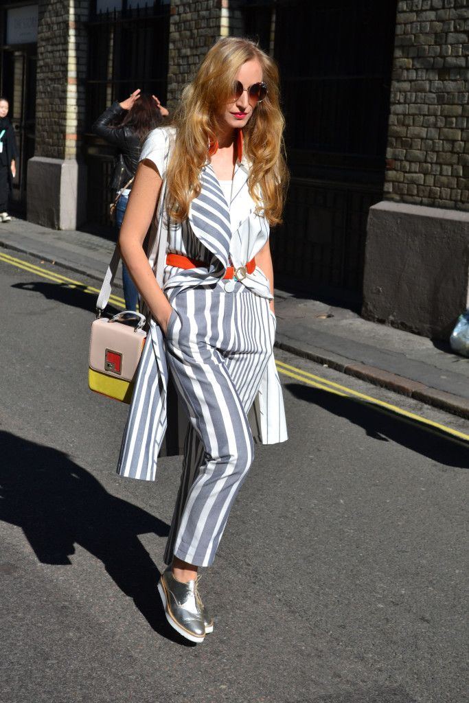Fashion Week 2016 street style, London street fashion, fashion blogger Cristina Candea