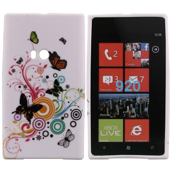 Symphony (Kuvioitu) Nokia Lumia 920 Silikonisuojus