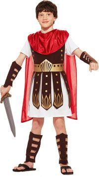 Roman Warrior Kids Costume - Roman Costumes