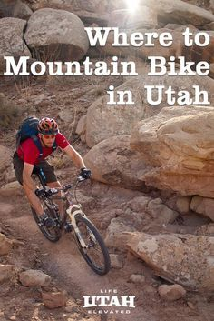 To help you plan a trip, we've assembled a list of seven of Utah's best mountain biking trails & a roundup of Utah's best fat-tire destinations. We've included Moab's fabled Slickrock, Porcupine Rim & Amasa back trails as well as new singletrack trails like the Sovereign Trail and Magnificent 7.