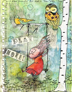 Click to see TONS of creative journal pages!