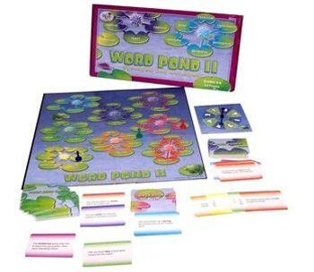 * WORD POND II by MotivationUSA. $19.95. * Word Pond IIfor grades 4-6Enrich vocabulary through synonym and antonym play in Word Pond II! The game introduces a total of 192 words spanning three grade levels. Three sets of 48 color-coded sentence cards—Synonyms A, Synonyms B, and Antonyms--provide contexts for inferring the meaning of unfamiliar words. Learn synonyms and antonyms for words such as dim, adventurous, enlarge, honor, blurry, proud, plentiful, obstruct, an...