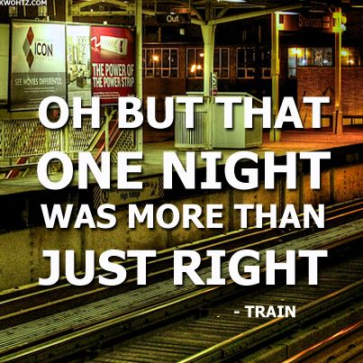 #TRAIN  DRIVE BY How ironic train songs on train tracks