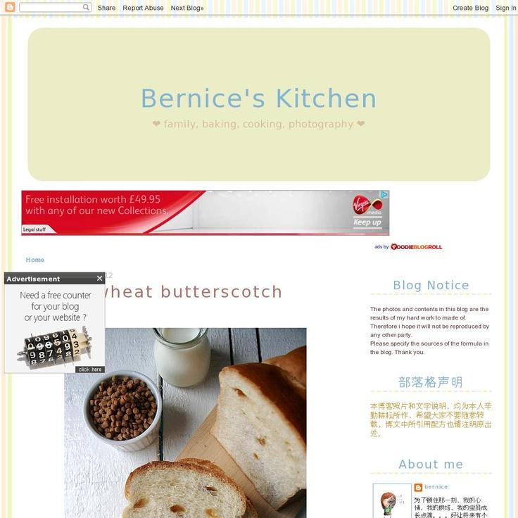 Bernice's Kitchen  The website 'http://happinesstory.blogspot.com' courtesy of Pinstamatic (http://pinstamatic.com)