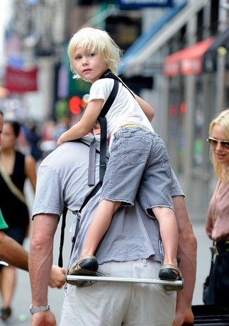 Piggyback Rider Basic Standing Child Carrier Backpack Supports a ...
