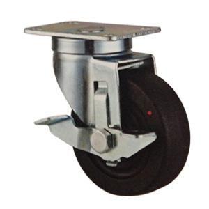 """Hitzebeständiges Kunststoff-Rad  Rad-Material: Hitzebeständigkeit Polyamid  Größe: 3 """"x 32mm; 4"""" x 32mm; 5 """"x 32mm  Belastbarkeit: 80kg-115kg  Lager: Doppelkugellager  Type Optional: Starre, drehbarer Platte, Gewindezapfen  www.casterwheelsco.com ; sales@casterwheelsco.com"""