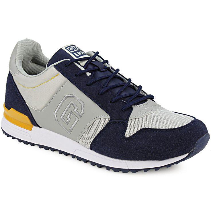 Ανδρικά αθλητικά casual με κορδόνια - Ανδρικά αθλητικά του οίκου Gioseppo. Το παπούτσι που δίνει στυλ στις sport εμφανίσεις σας. Εξωτερικά είναι κατασκευασμένα από...