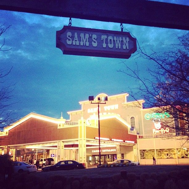 Sam S Town Tunica Hotel Located In Ms Was The Las Vegas Shown