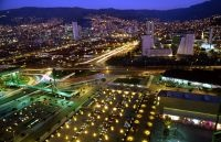 view of Medellin Colombia