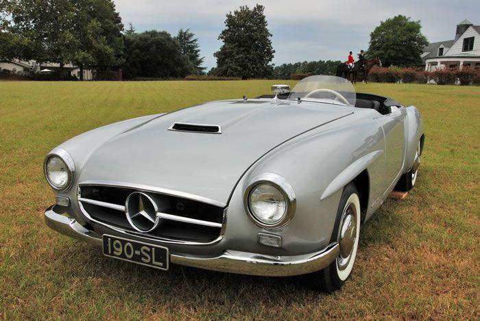 1954 Mercedes Benz 190sl Prototype Chassis Prototype