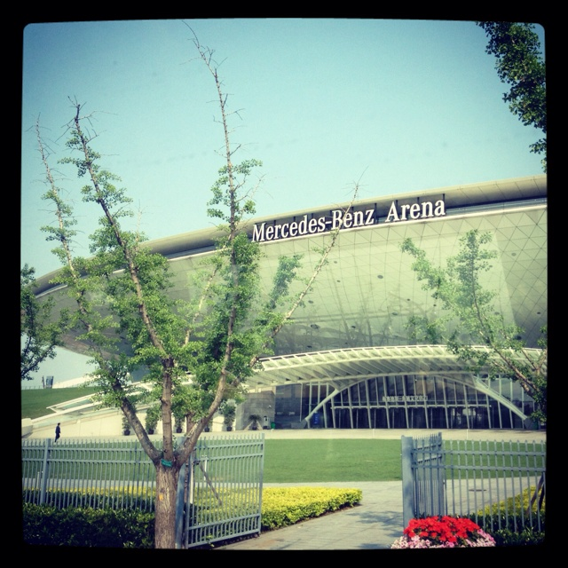 The Shanghai Mercedes Benz arena hosts many top of Chinese and international artist performances located in the Expo site.