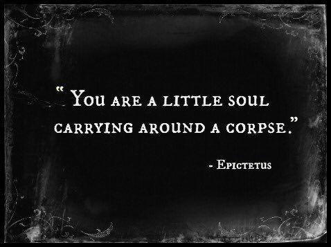 #Life & #Death & yet more #Life .. #Epictetus ..