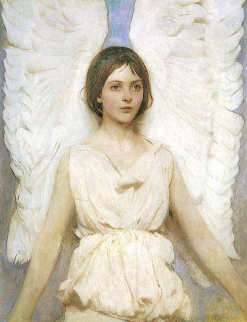 Angel by Abbott Handerson Thayer. American. 1849-1921.