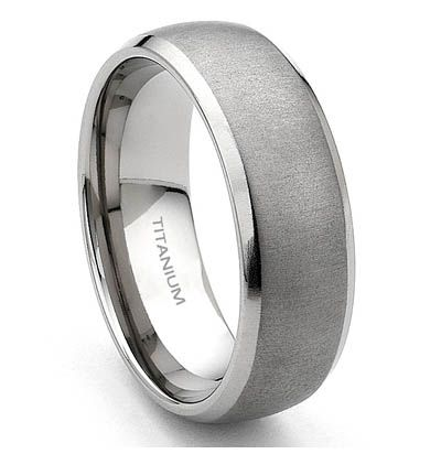 Wedding Rings : Vintage Mens Wedding Bands Womens Titanium Wedding ...