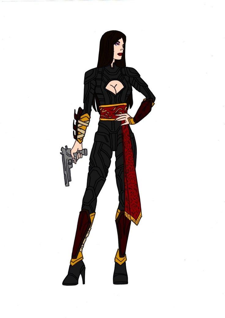 Talia Al Ghul Redesign! by Comicbookguy54321.deviantart.com on @DeviantArt