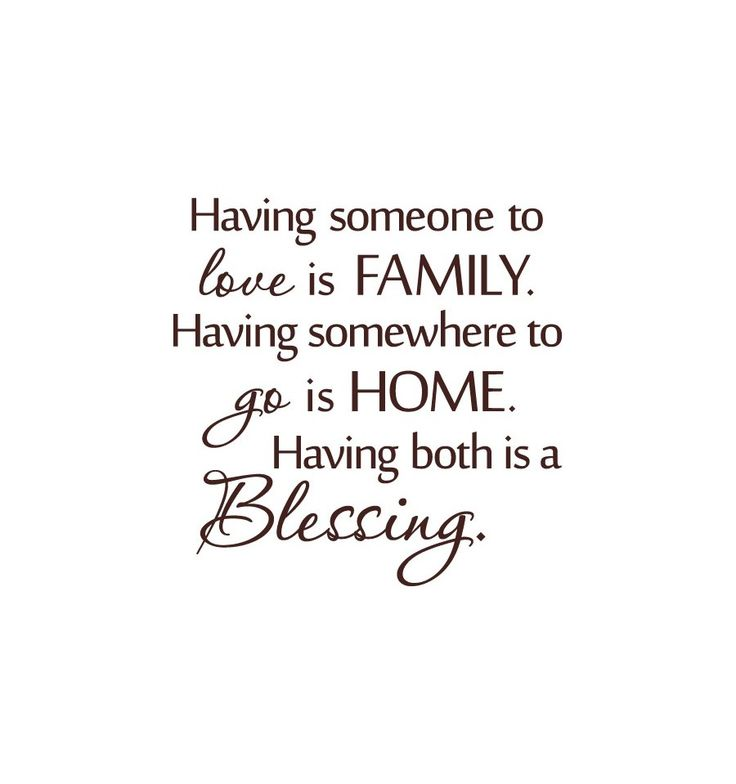 Family Quotes: Sweet Quotes About Family Love ~ http://www.jojopix.com/