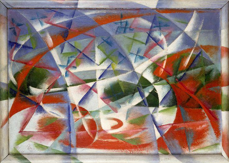 Velocità astratta + rumore, Giacomo Balla, 1913-14
