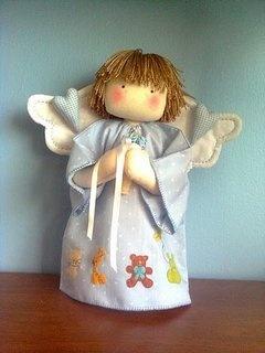 Como hacer un angelito de tela | Mimundomanual