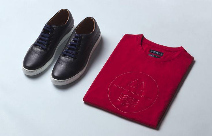 MUST HAVE | Ключевые детали базового гардероба  Кеды кожаные - 3 799 ₽ Футболка с принтом - 1 199 ₽  #MFILIVE #musthave #SS17