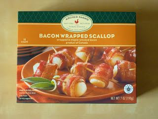 Archer Farms Bacon Wrapped Scallops reviewed.
