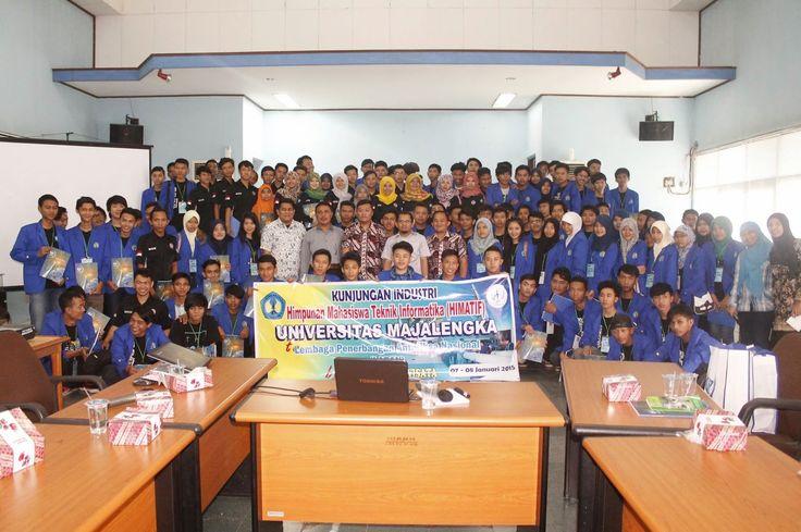 Universitas Majalengka (UNMA) mempercayakan organize Kunjungan Indsutri to LAPAN Bogor tgl. 07 - 08 Januari 2015 pada #PesonaTransWisat. PIN 2A82A1F9