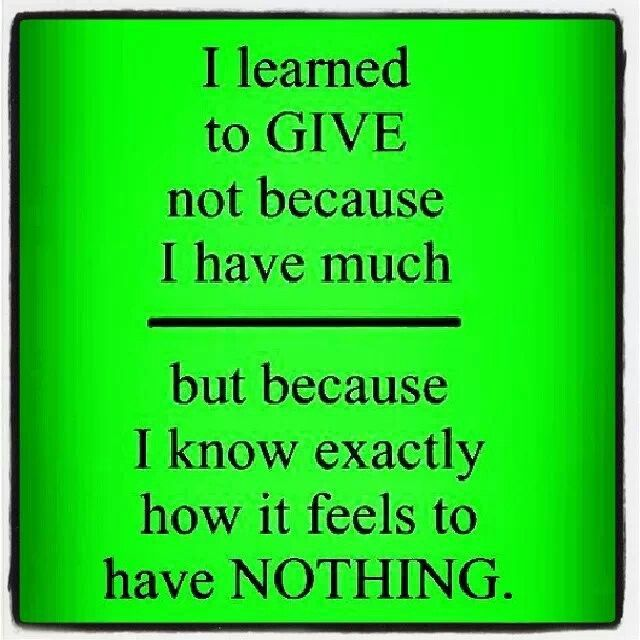 Quotes On Giving Back: Give Back!!