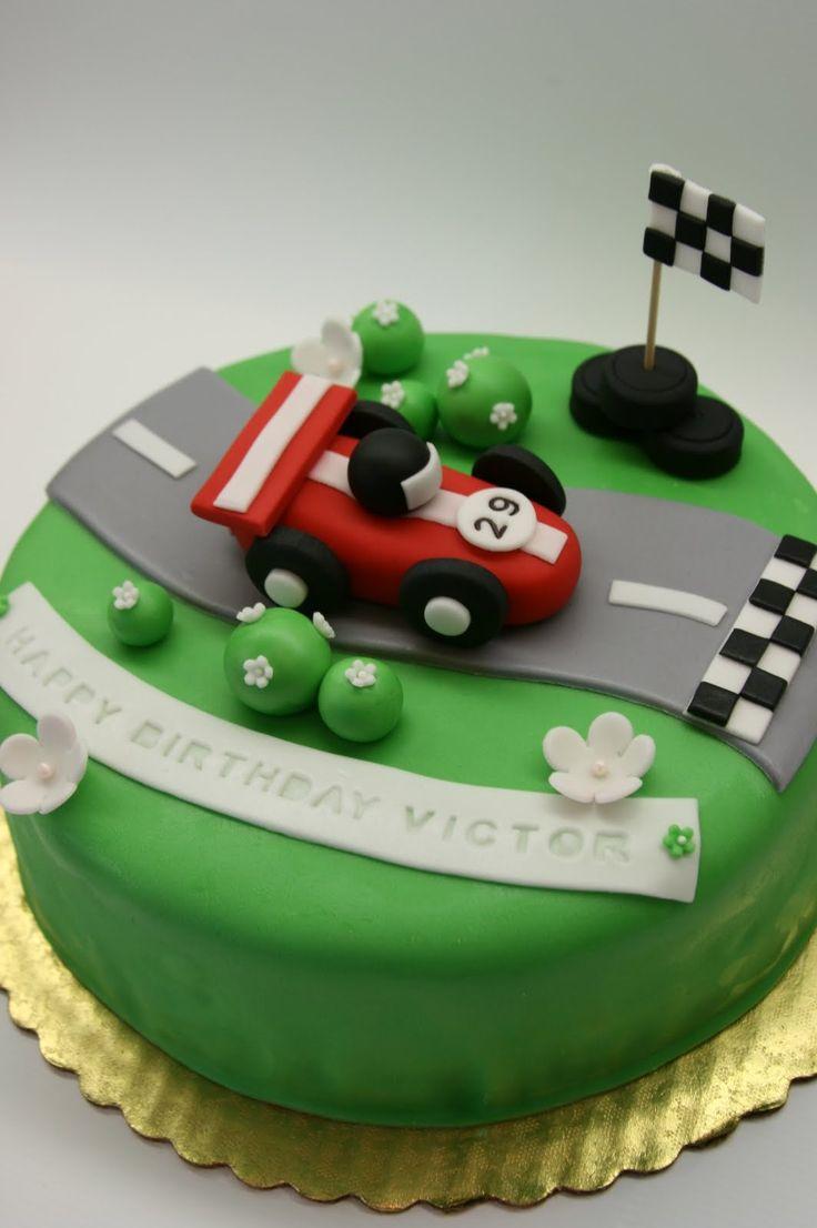 http://abeautifulkitchen.blogspot.com/search/label/Racing Car Cake Topper