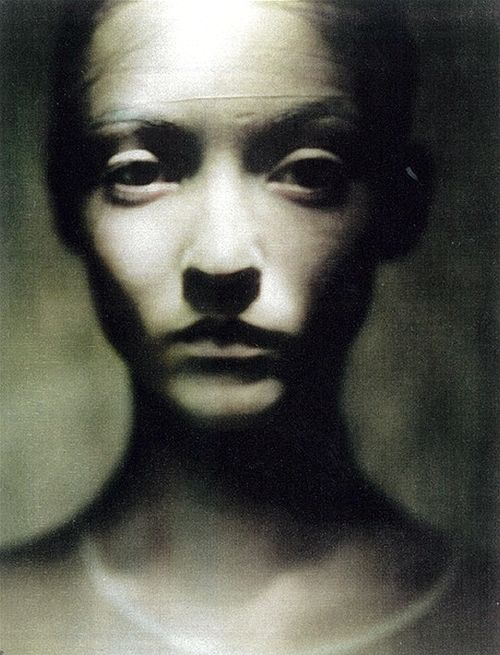 ☽ Dream Within a Dream ☾ Misty Blurred Art & Fashion Photography - audrey marnay by paolo roversi, 2000