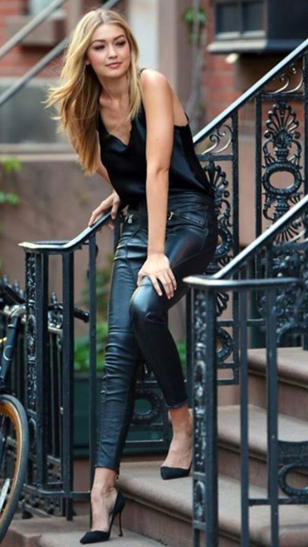 How to steal Gigi Hadid's wardrobe! (To wink!)