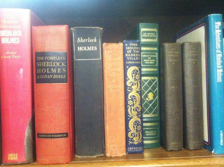 Antique Sherlock books