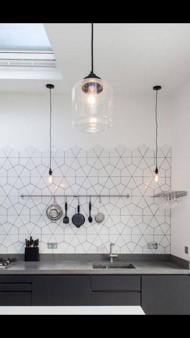 Fantastisch Einfache Küchenfliese Aufkantung Ideen Zeitgenössisch ...