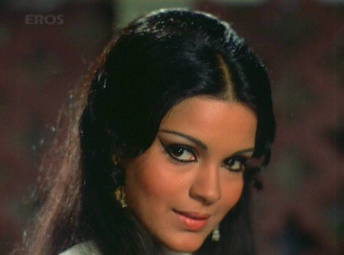 zeenat aman 70s bollywood style beautiful people