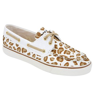 The perfect combination of animal print and classic Sperry style. BISCAYNE by SPERRY