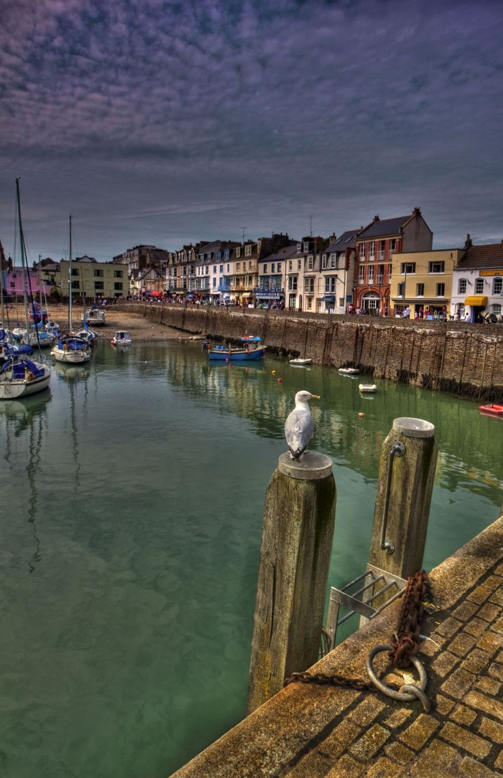 Ilfracombe Harbour, North Devon, UK - HDR Photo by mattcollins