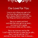 15 Rhyming Love Poems for Her (Girlfriend)
