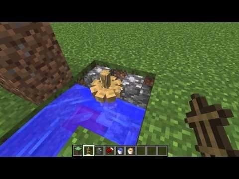 hoe maak je een minecraft kampvuur in vanilla minecraft 1.8 - YouTube